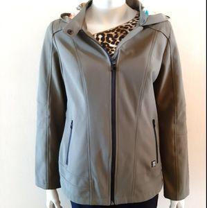 Point zero jacket  by Nicole Beristi with hoodie